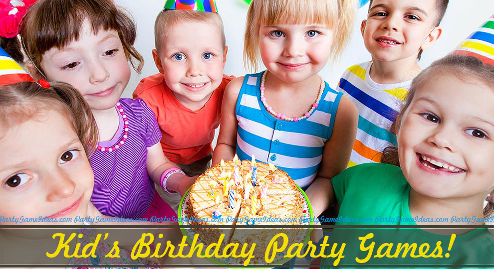 70 kids party games