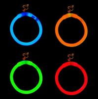 Glow Earrings - Partyhallen.se