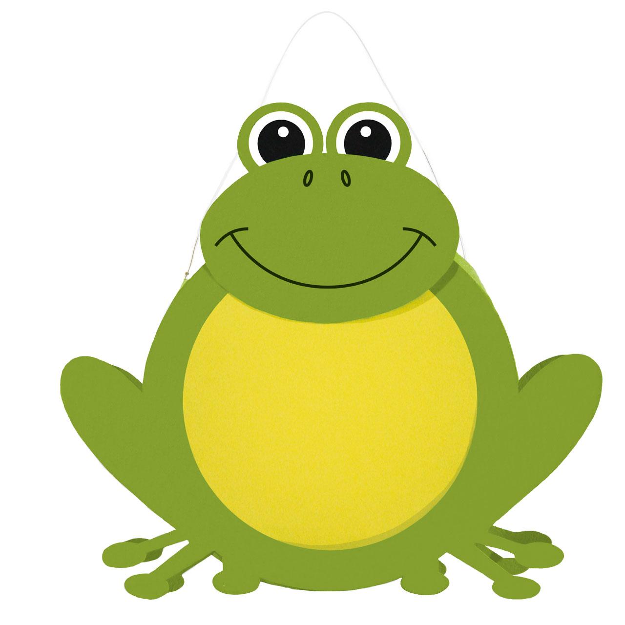 Bastelset Kinderlaterne Frosch grngelb
