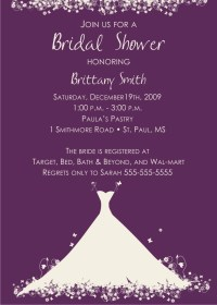 Bridal Shower Party Invitations | Party Ideas