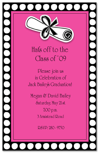 15 graduation party invitations party ideas. Black Bedroom Furniture Sets. Home Design Ideas