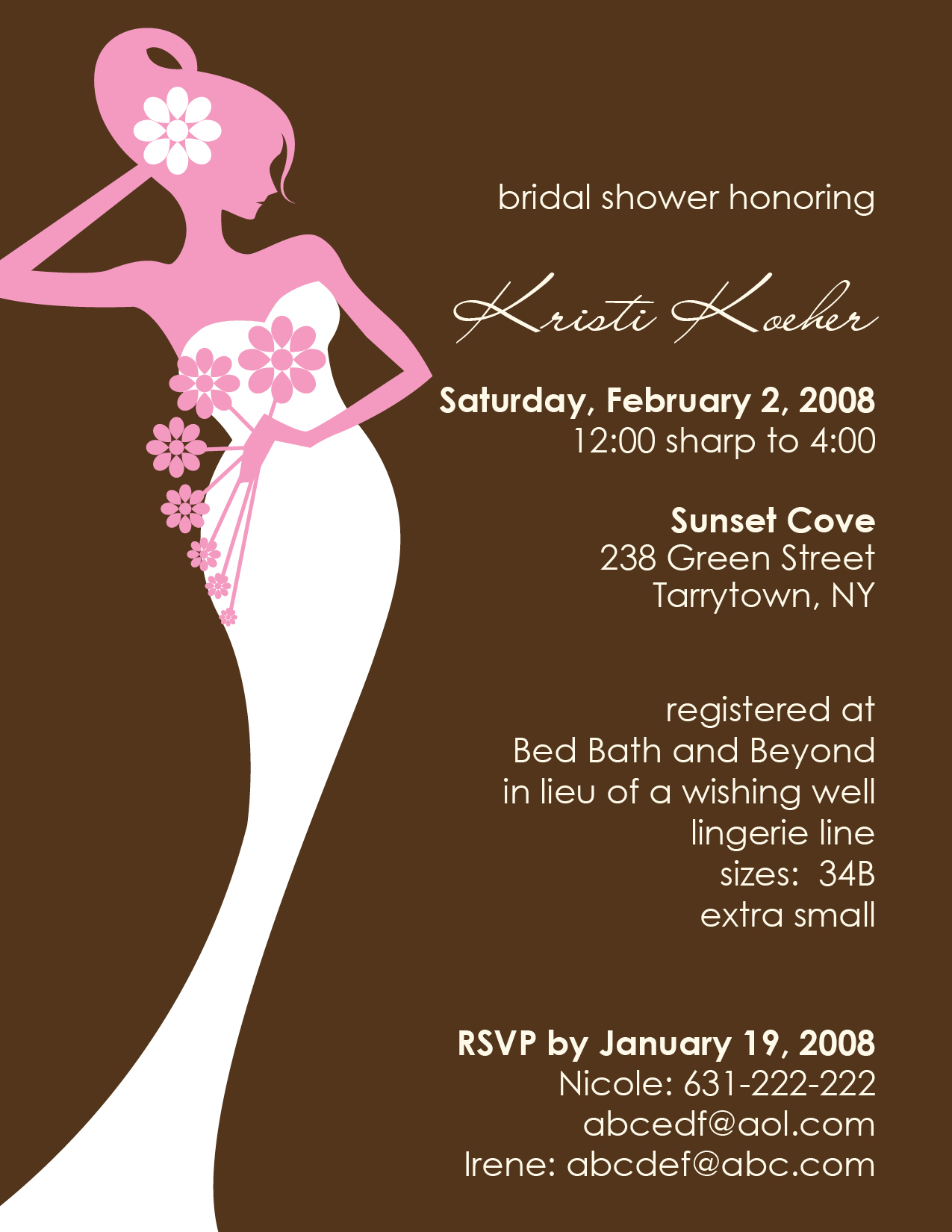 15+ Bridal Shower Party Invitations | Party Ideas