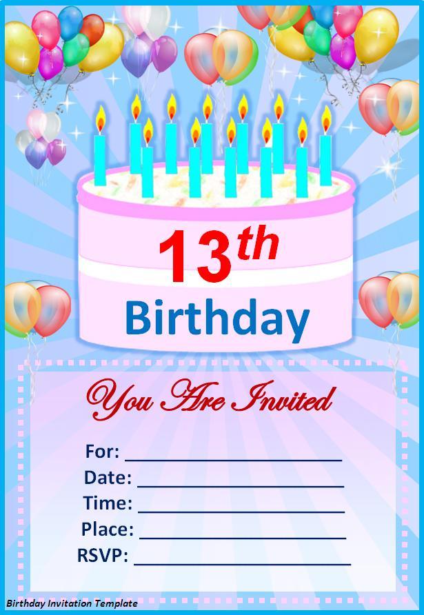 Birthday Party Invitations Ideas