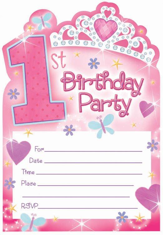 12 Birthday Party Invitations Party Ideas