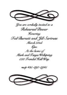 Bridal Luncheon invitations- NEW selections Summer 2018