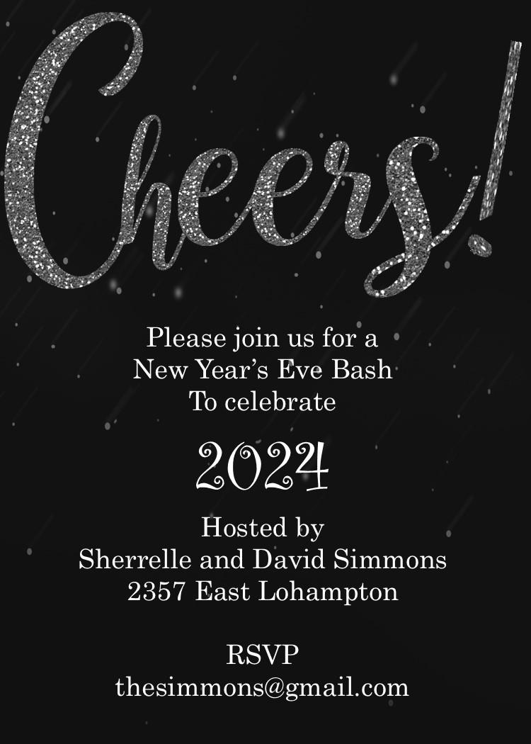 funny new years invitation wording