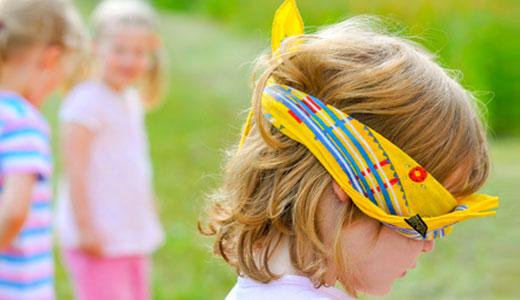 Die schnsten Spiele fr den Kindergeburtstag