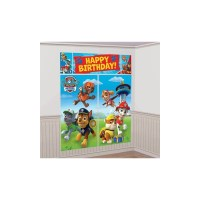 Paw Patrol Scene Setter Wall Decorating Kit (Each ...