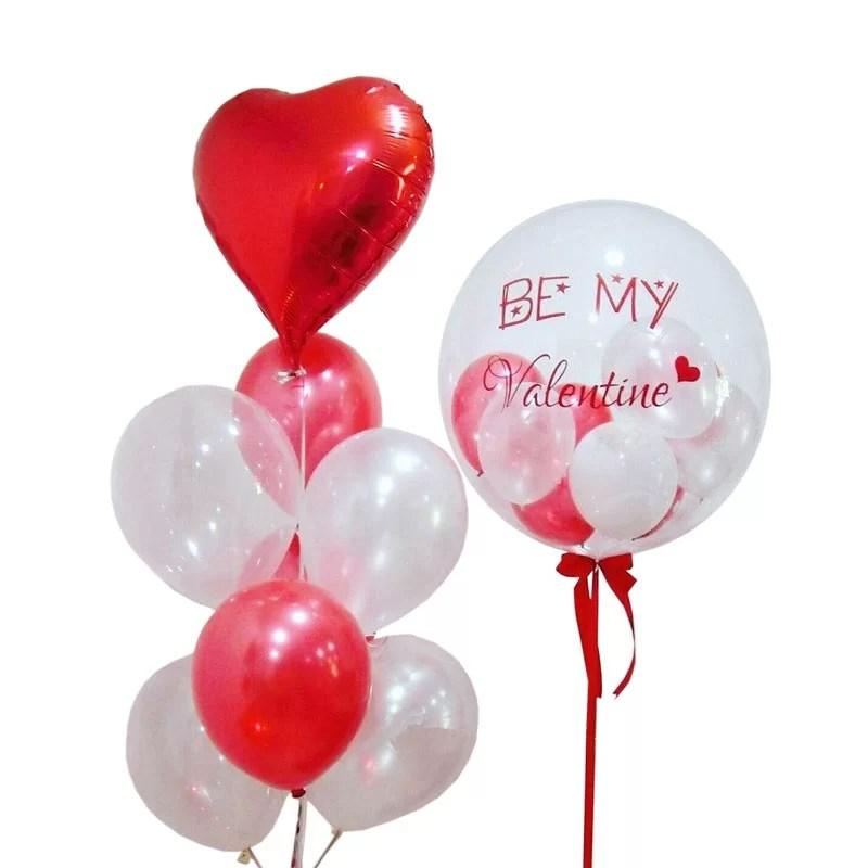 Aria Bubble Balloon Bunch