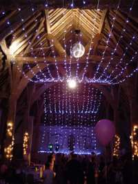LED Canopy Lights: Hire LED Canopy Lights - Party Lights