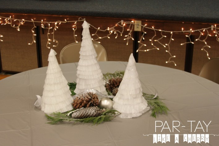 christmas party centerpieces