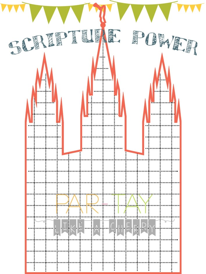 scripture reading chart free printable