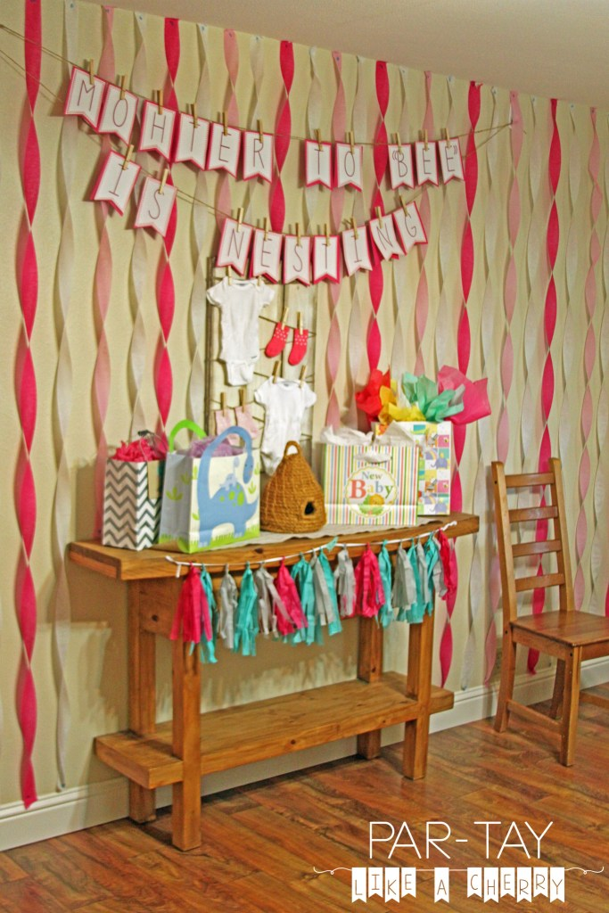 birds and the bees baby shower theme ideas and free printables