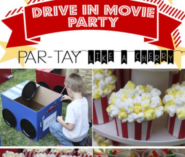 Movie Party Theme Decorations Rumahblog Wallpaper
