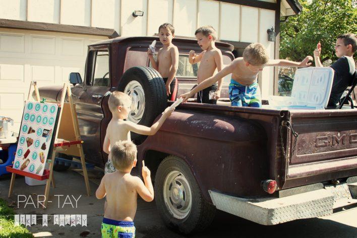 ice cream party fun idea, so easy and kids will love it!