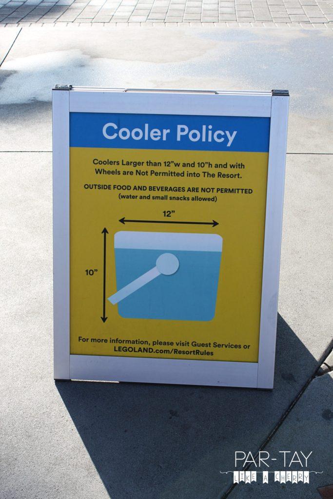tips, tricks and hidden gems to do Legoland California like a boss. Legoland cooler policy