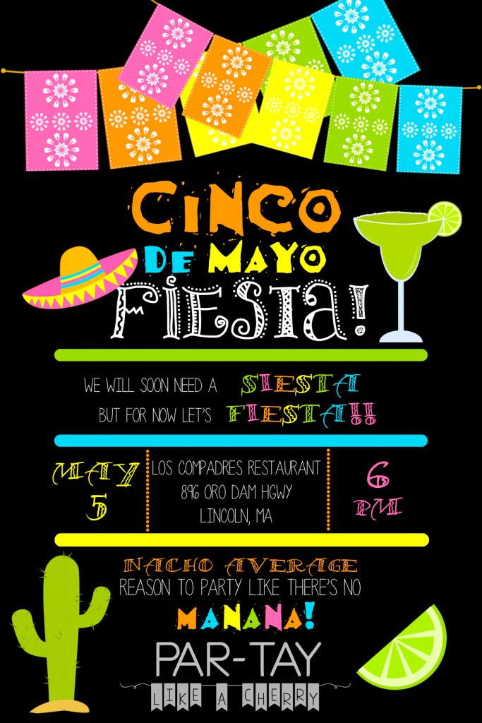 free cinco de mayo invitation template