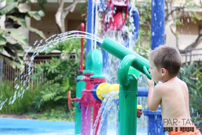 kids splash pad at carlsbad hotel, perfect for families!