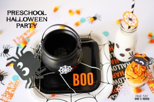 preschool halloween party ideas