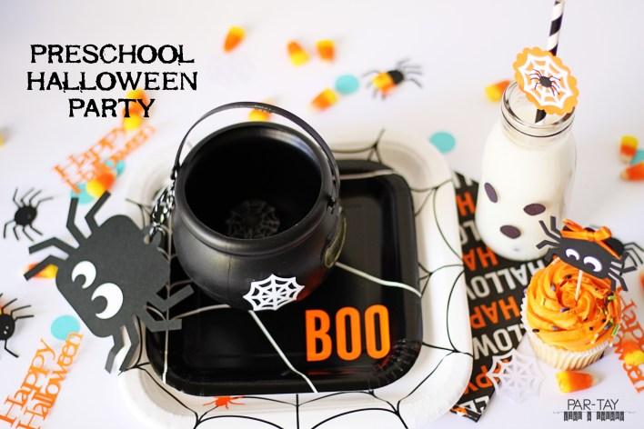 preschool halloween party ideas