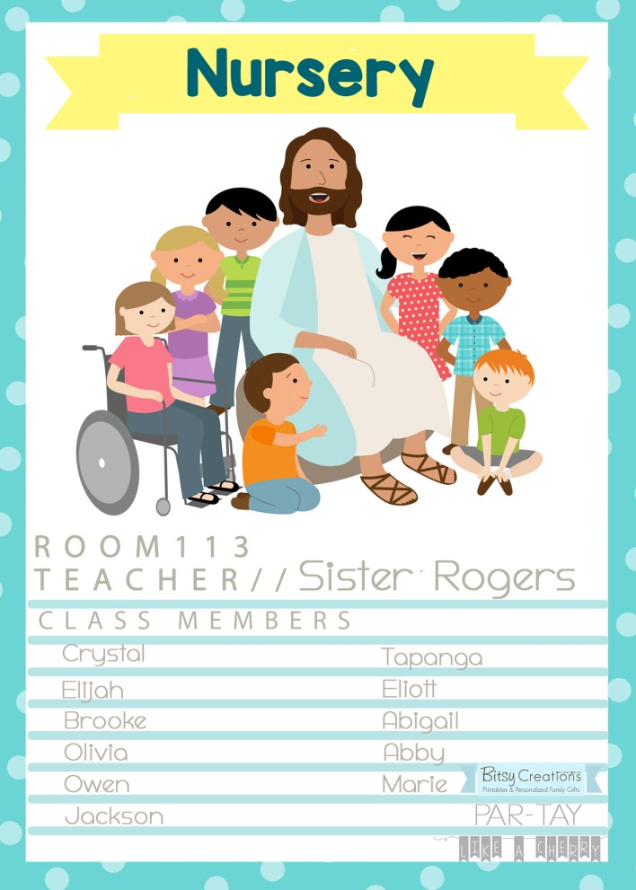 Primary 2019 Come Follow Me New Testament Free Printable Door Signs
