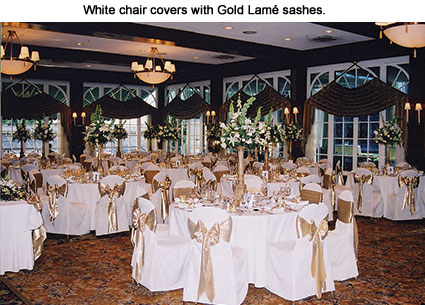 white chair sashes swing ikea party linens cairs covers napkins