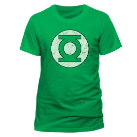 Green Lantern t-shirt distressed logo