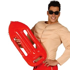 Inflatable lifeguard float