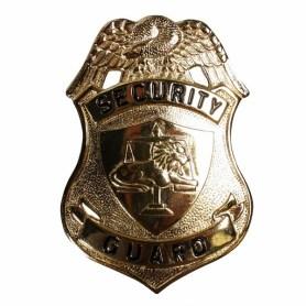 Security guard badge - gold