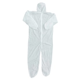 Thin white coverall