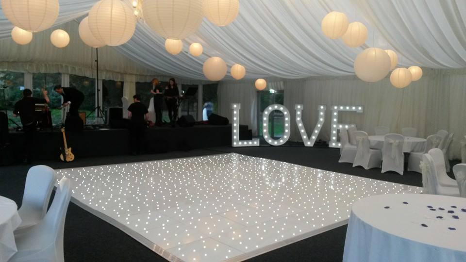 chair covers scotland wedding folding chairs led dance floor hire - party people | & decor event hireparty ...