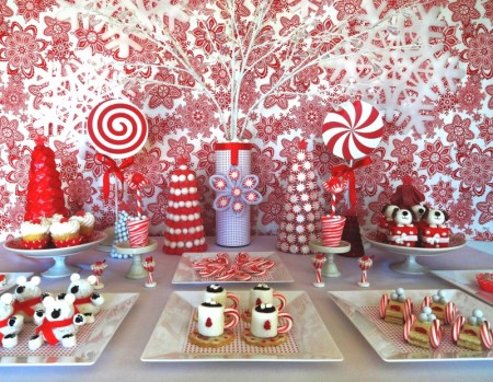 Christmas Dessert Table Decoration Ideas