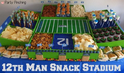 Best Super Bowl Snack Stadium Seattle Seahawks