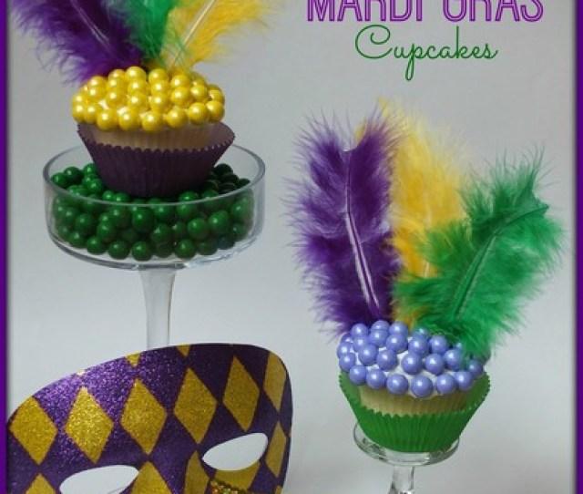 Mardi Gras Cupcake Mardi Gras Dessert Ideas Mardi Gras Party Ideas Mardi Gras