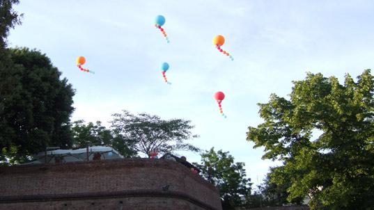 ALLESTIMENTI allestimenti e addobbi di palloncini realizzati dal negozio PARTY POINT di