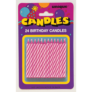 bulk birthday candles party supplies spiral bday candle