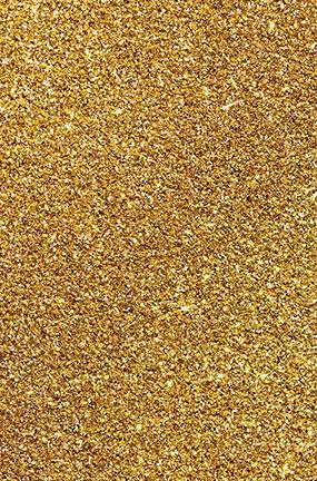 glitter gold design large