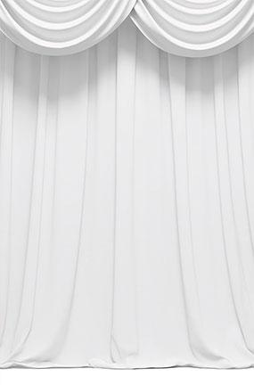 white curtain design large