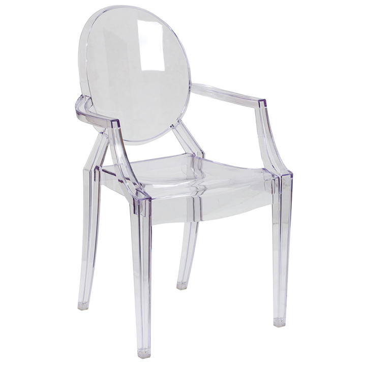 ghost chairs swing chair online clear with arms for rent in nyc partyrentals us w