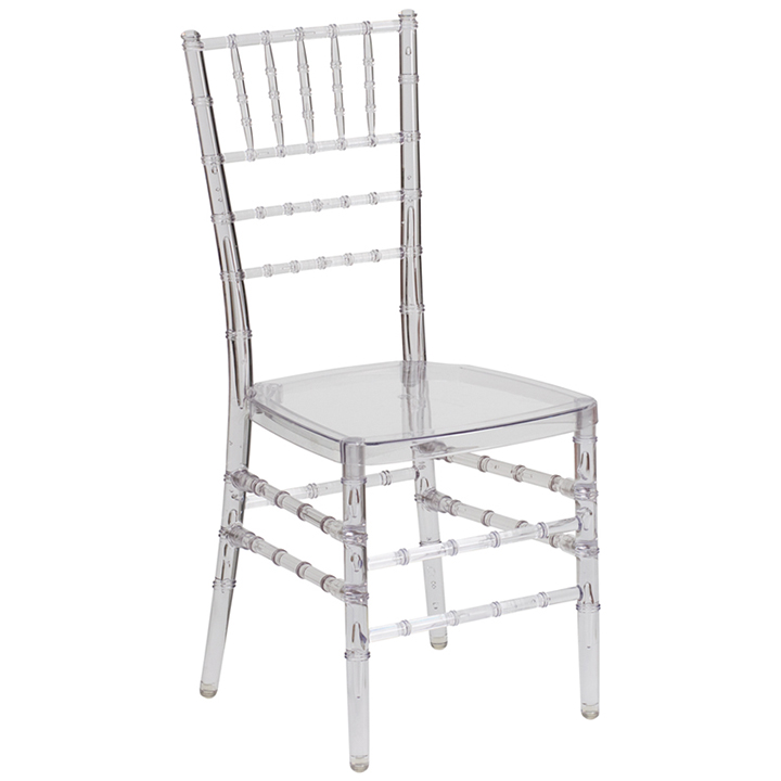 black ghost chair hire white leather dining rentals nyc wedding event seating partyrentals us chiavari for rent