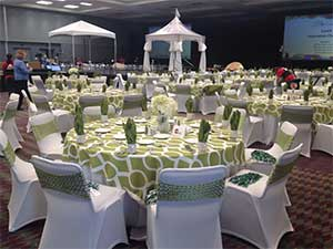 chair cover rentals quad cities dining styles chart party in winter haven fl event rental store polk county welcome to unlimited