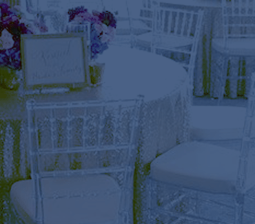 table and chair rentals in delaware woman sitting party delivered linens