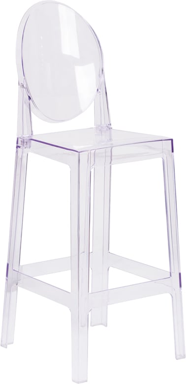 ghost chair bar stool charli accessories clear 15 00 party rentals delivered prev