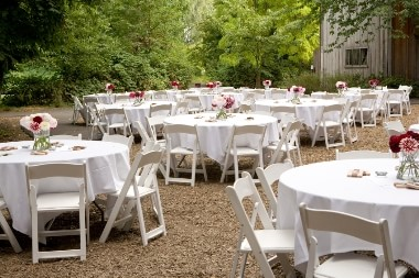 baby blue wedding chair covers dining with casters party rentals in toronto | table and rentals, tablecloth cover tent ...