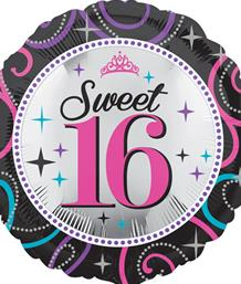 16th birthday balloons party