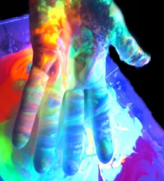 How to make glowing rainbow slime  childrens party ideas