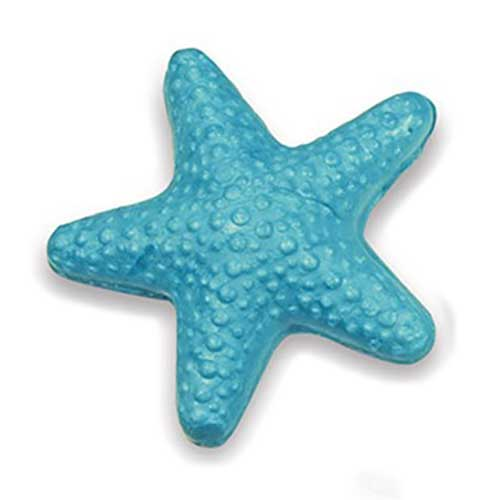 aqua or white starfish