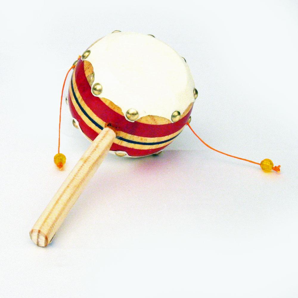 Authentic Mexican Pellet Drum Rattle Drum Percussion