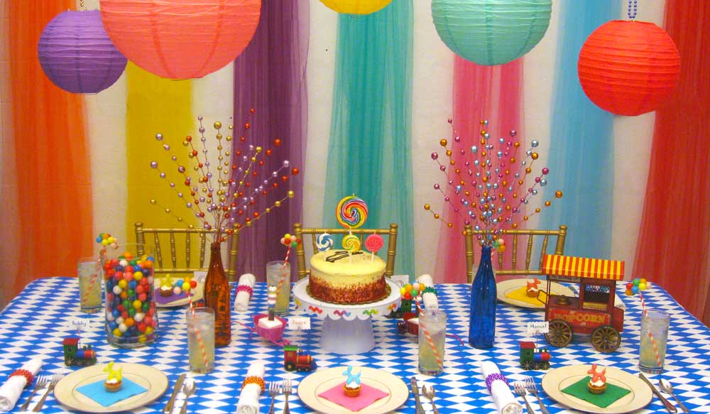 birthday theme party decorating