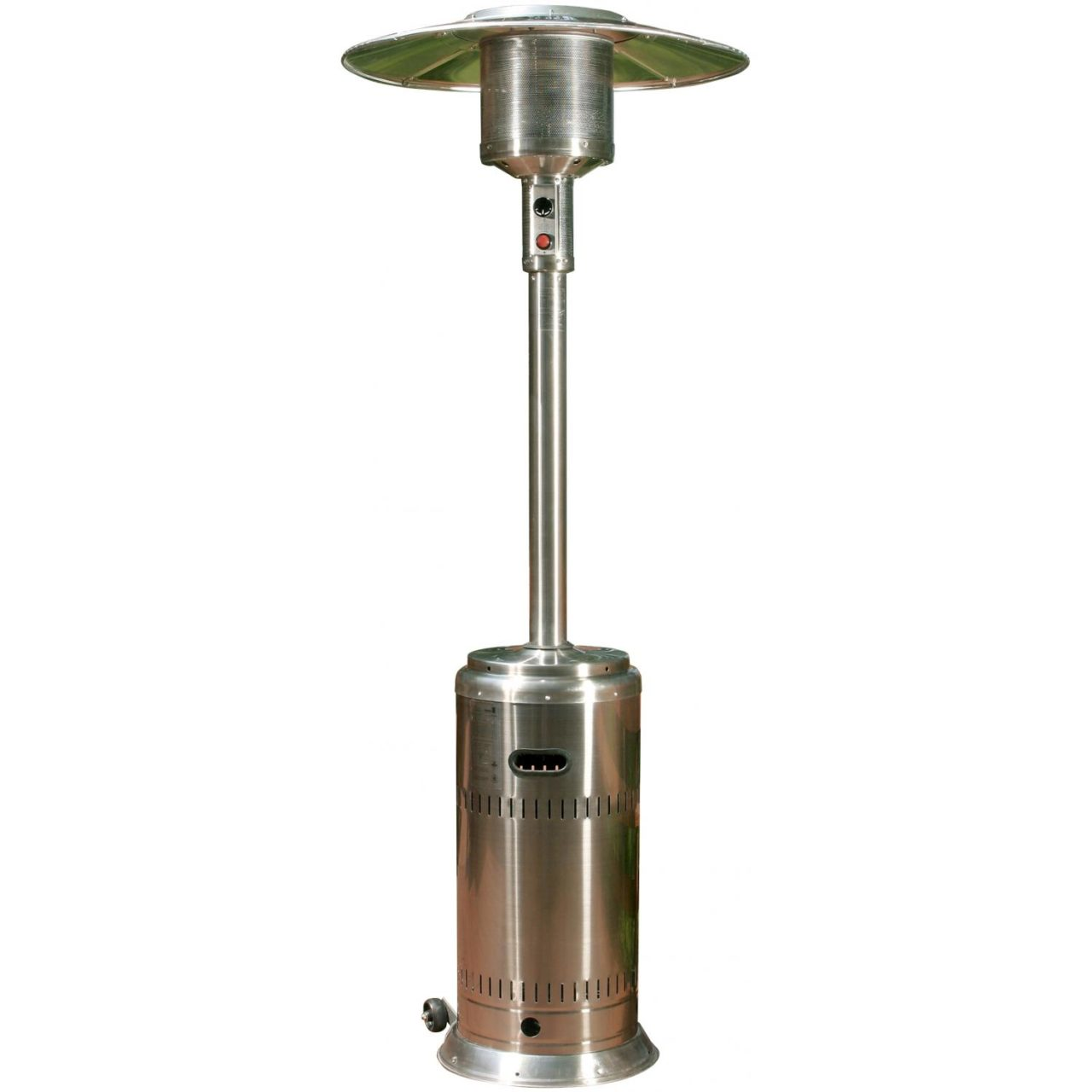 Stainless Outdoor Patio Heater Rental  Party Time Rentals
